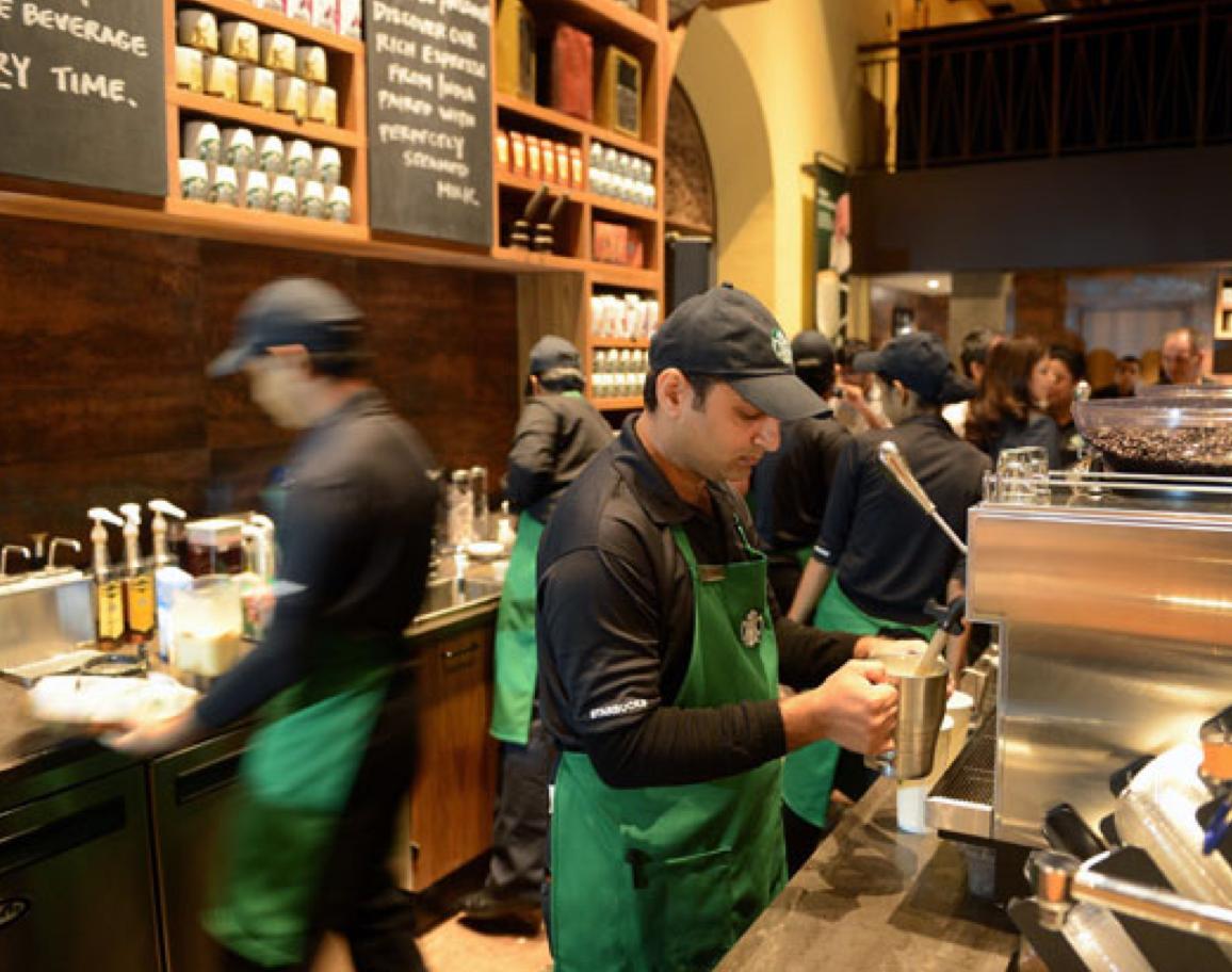 Café de Starbucks para todos los pasajeros de Delta