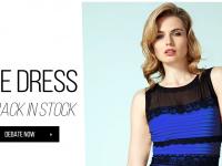 #TheDress: ¿Una estrategia de marketing o sólo un buen pretexto para hacerla?