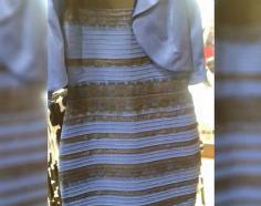 Un Vestido Blanco Y Dorado Está Dividiendo Al Mundo O Es