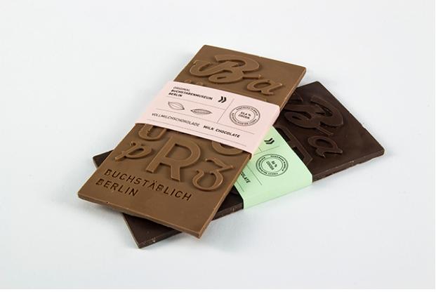 Empaque de golosina une al arte con la tipografía
