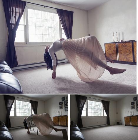 Los secretos detrás de la levitación fotográfica