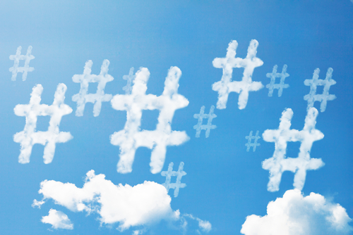 Hashtags-Redes sociales