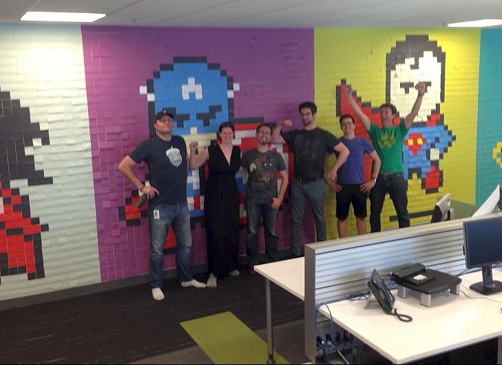 Una creativa idea para decorar tu oficina