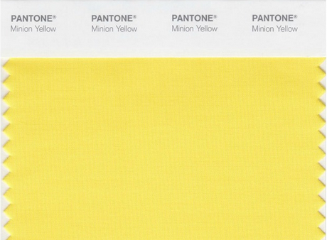 pantone minion
