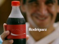 Los nombres de Coca-Cola, ahora también en braille