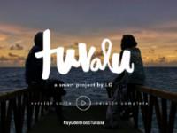 LG lanza una campaña para salvar a Tuvalu (¿Tuvalu?)
