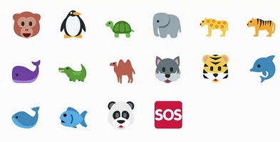 Emojis WWF