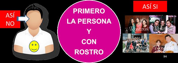 PERSONAS CON ROSTRO