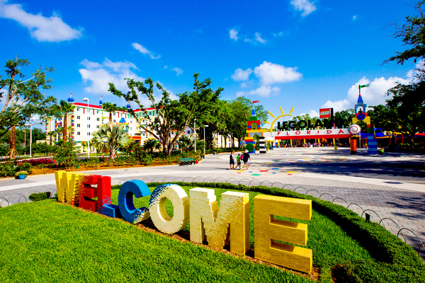 WINTER HAVEN, FL - May 11, 2015 -- LEGOLAND Hotel at LEGOLAND Florida Resort is putting its final touches in place ahead of the May 15 opening of the new 152-room hotel built for kids.  (PHOTO / Chip Litherland for LEGOLAND Florida/Merlin Entertainments Group Inc.)