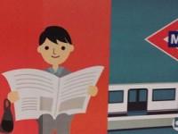 Así ve Metro de Madrid a los viajeros: las mujeres se maquillan y los hombres leen prensa