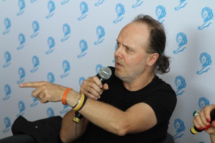 Lars Ulrich Cannes 01