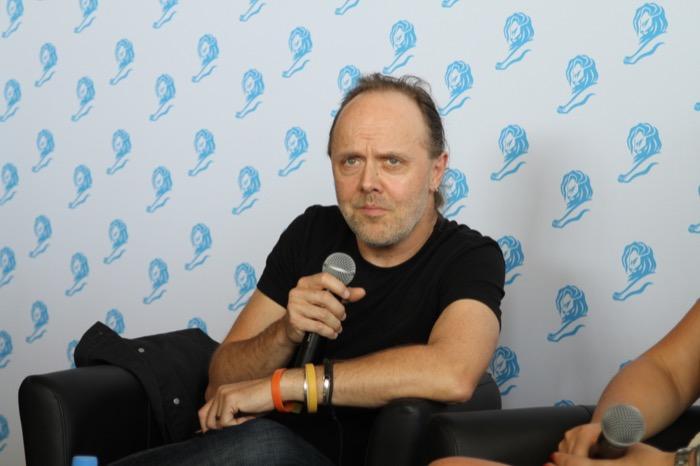 Lars Ulrich Cannes