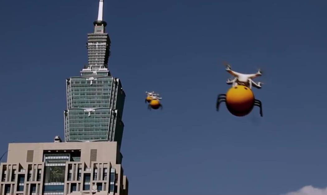 drones abeja
