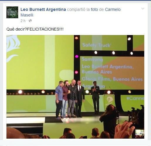 leo burnett FB