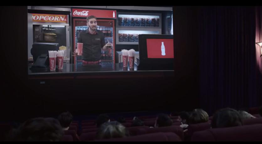 marketing coca cola zero