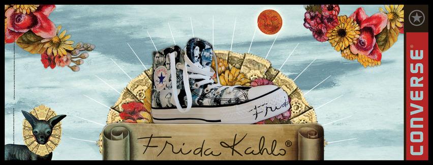 converse edicion especial frida kahlo