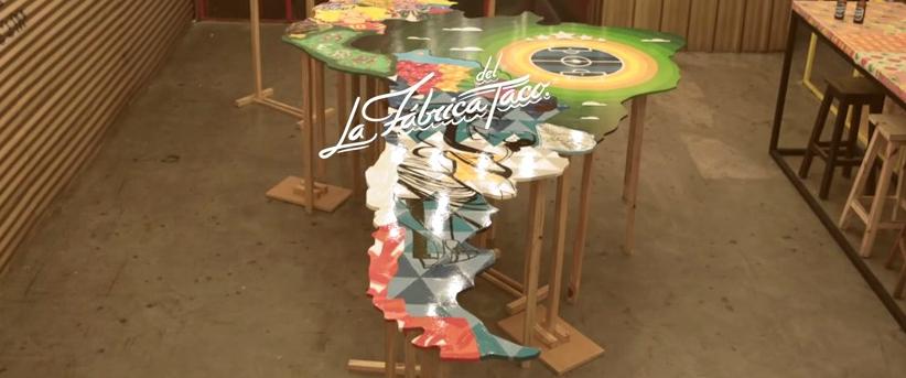 la mesa de la copa america 2