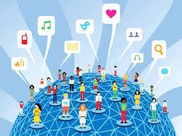 redes sociales por