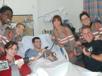 Las Cazafantasmas están en el hospital