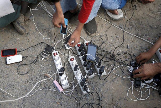 Migrantes Smartphones