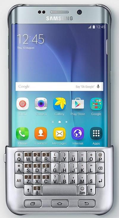 galaxy s6 edge plus con teclado qwerty