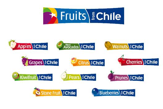 marcas frutas