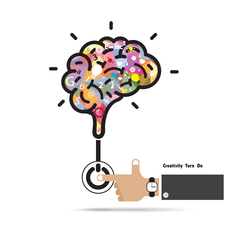 Píntate De Optimismo Y Creatividad: 5 Elementos Que Impulsan El Pensamiento Creativo