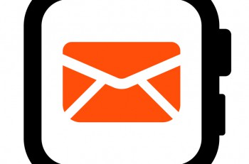Email in smartwatch icon