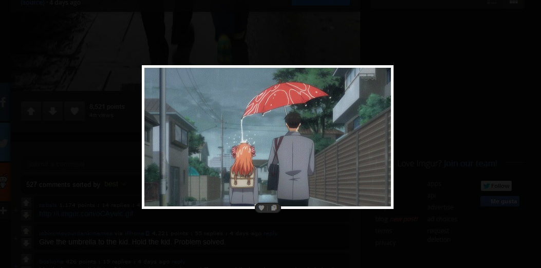 papa lluvia