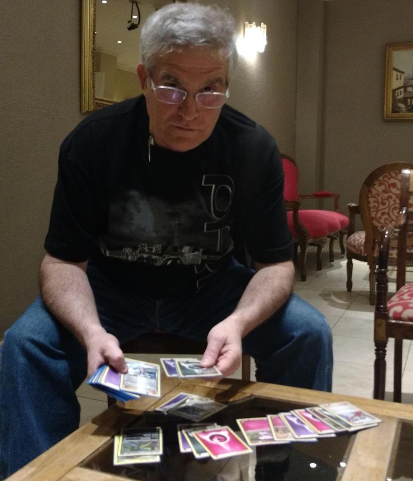 Fernando Muñoz, minero y jugador de Pokémon. Foto: Tarreo.