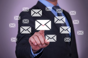 Touch Email business email internet computer mail touch screen