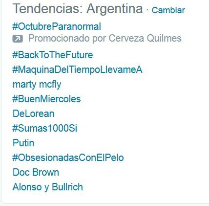 tendencias argentina twitter