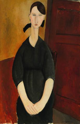 Modigliani Paulette