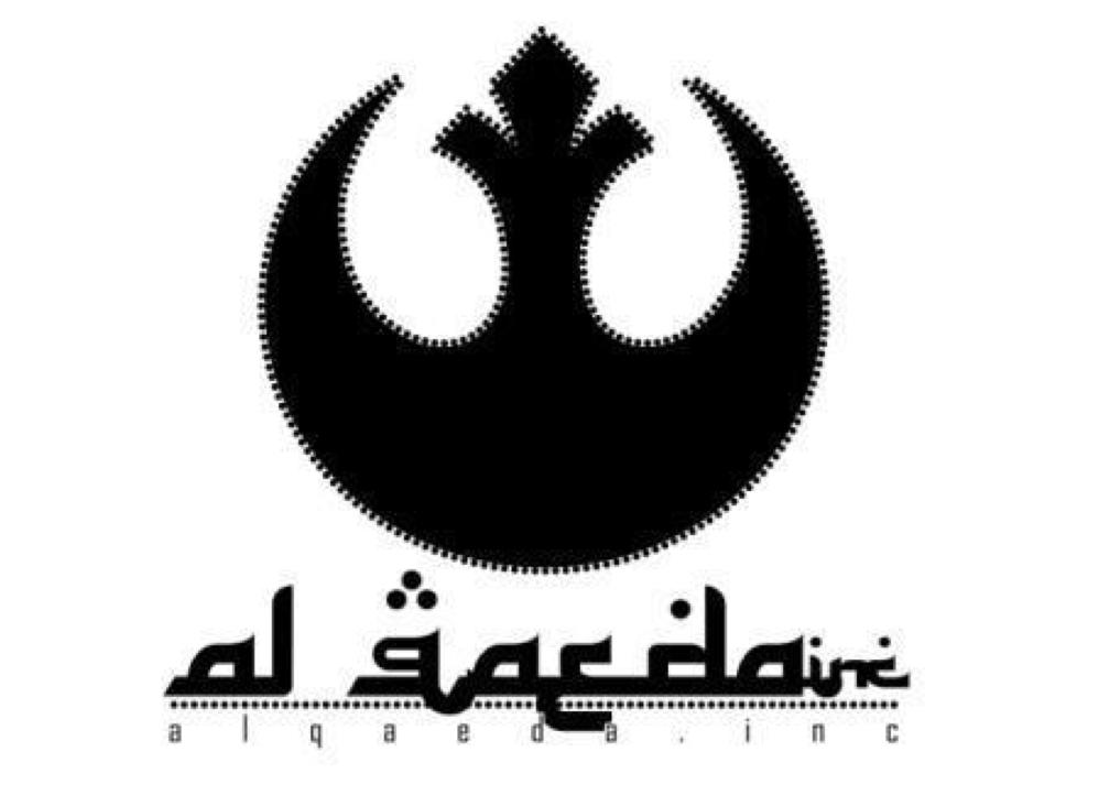 Periodista español confunde el logo de Al Qaeda con el de la ...