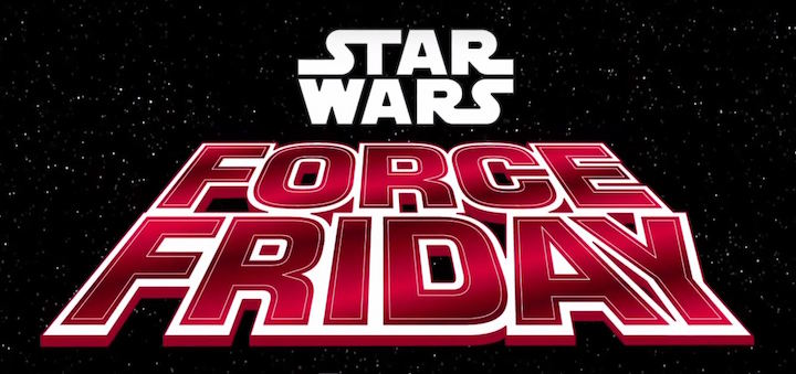 Star Wars Marketing Force Friday