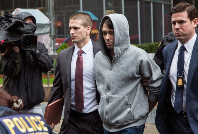 Martin Shkreli arrested