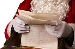 santa claus celebrating Christmas, people and lifestyle