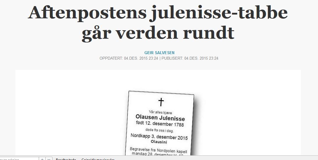diario noruego