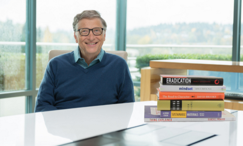 Los libros favoritos de Bill Gates durante 2015