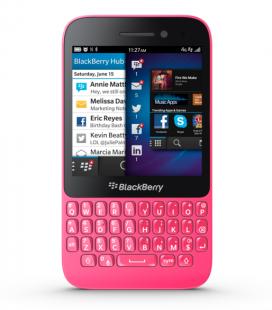 """El Chapo le habría regalado una """"BlackBerry rosita"""" a Kate del Castillo. Imagen: RIM."""