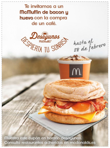 McDonalds Deayunos
