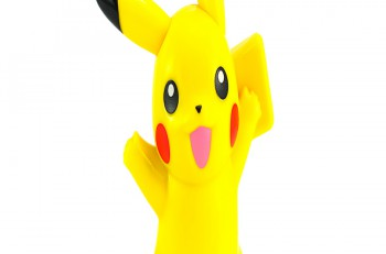 BangkokThailand - October 30 2014: Pickachu toy character from Pokemon anime. There are toy sold as part of McDonald HappyMeal toy.