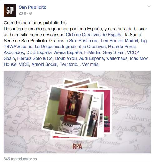 san publicito facebook