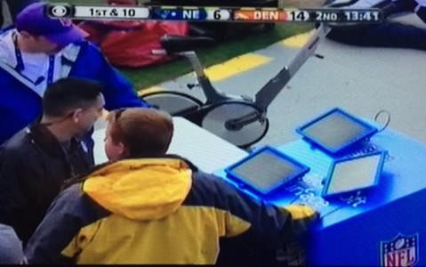 Otro fracaso para Microsoft en la NFL: se descomponen sus tablets en pleno partido