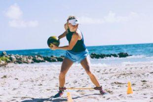 Imagen: Caroline Wozniacki, embajadora de Adidas/Twitter