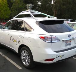 Google Lexus Vehiculo autonomo