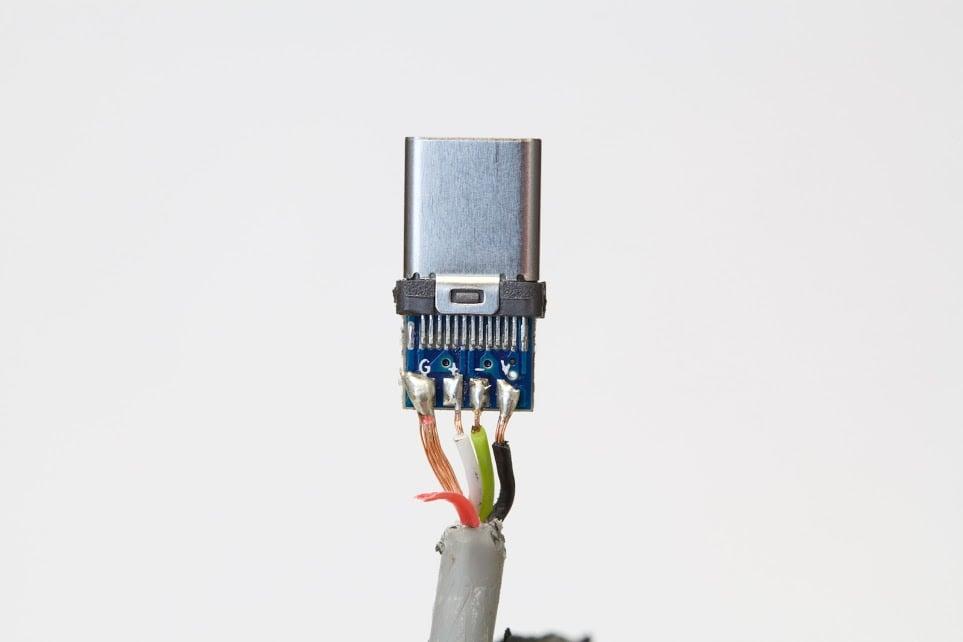 USB Tipo C defectuoso