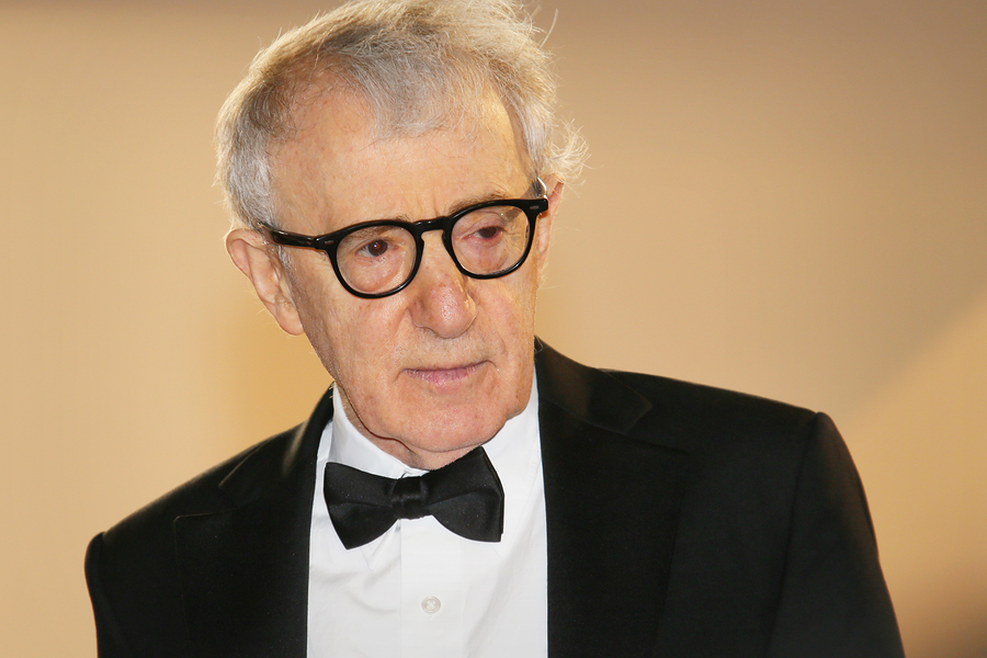 Woody Allen attends the Premiere of 'Irrational Man' during the 68th annual Cannes Film Festival on May 15, 2015 in Cannes, France.