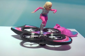 barbie dron