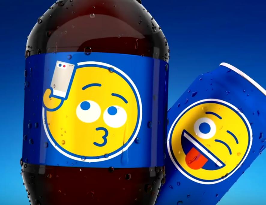 Nueva campaña mundial de Pepsi llenará de emojis sus latas